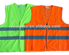 3M Reflective Tape HI VIS Green Orange Safety Waistcoat
