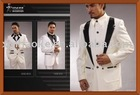 HK-08 White Design New Wedding Suits