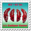 "big 3D brembo caliper front rear 10.5""and 9.5"" BC-005"