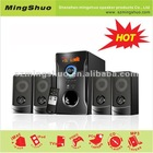 Hot line array speaker with USB/SD/FM radio and VFD