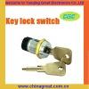 china great KEY LOCK SWITCH K19-04 electronic key lock switch