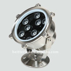 White, Red, Green, Yellow, RGB, Blue color 14W LED underwater fountain light, underwater aquarium light led