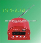 YW 2-A.FM DC 12Voutput USB SD MP3 Player