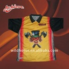 Free design custom cricket t shirt/jersey