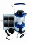Convenient practical Stainless steel Solar Camping lantern/Solar Camping lantern