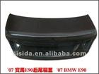Carbon fiber Rear trunk lid cover for BMW E90(320/325I)2006-2008