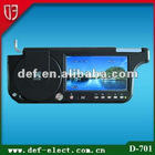7 inch superior car sun visor dvd player
