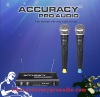 Professional UHF Dual Channels Wireless Microphone BM-909