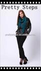Pretty Steps china wholesale slim fit black fashion pants