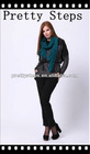 Pretty Steps china wholesale slim fit black fashion pants