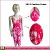 2012 flower women dress