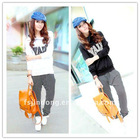 New - Korean Hooded sportswear / Casual suit /Sweat suits =JD-LSW112
