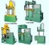 Nonmetallic packs the hydraulic press