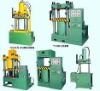 Nonmetallic packs the hydraulic press