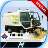 Self-Cleaning Floor and Road Sweepers