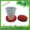 Plastic Folding Cup for Promotion