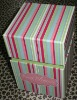 Square Two Layer Hand Made Gift Box