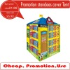 Supermarket promotion standees fabric cover tent