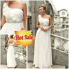 Hot Sale wedding dress 2013 trends stylish bridal white wedding dress (30243)