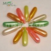 Tube shaped hair conditioner capsule