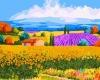 DIY/Digital Oil Painting of rural scenery