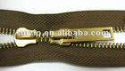 Anti-brass zipper