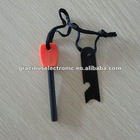 Survival Ferrocerium Fire Steel Striker With can opener, ruler, plotting scale