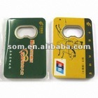 2012 Welcomed Card Shape Bottle Openers