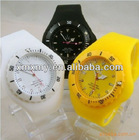 cheap silicone jelly watch