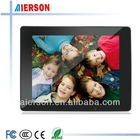 13.3 inch digital photo frame Support SD, MMC, MS