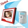 7 inch color video door phone for villa