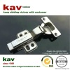 half overlay 35mm cup 2 way clip on soft close hinge for cabinet