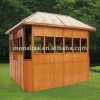 Outdoor wood arbor ligneous gazebo wood gloriette wooden kiosk M-902