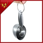 4pcs Stainless Steel Oval Measuring Cup