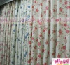 PC13099 Colourful printed ready made curtains