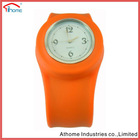 round shape beautiful slap strap on watch