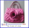 lady bag Mini fuax leather rose Bag for Women multi-Color long chain