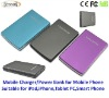 8000mAh multiple mobile charger,multiple mobile phone battery charger