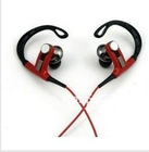 Sport Earphone Athlete Stylish Power Super Bass Metal Headphonewith Bendable Ear Hook, UV coating Headphone
