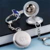 White pocket watch necklace Fob Watch Turnip pocket watch