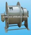 Spring loaded Cable reel drum for cranes