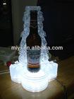 2012 new beverage led display /led bottle glorifier