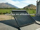 copper pipe heating solar collector