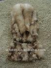 ladies knitted real rabbit fur vests