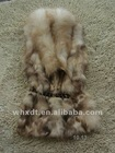 ladies knitted real rabbit fur vests