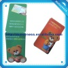 Promotional magnetic bookmark