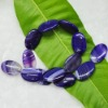 purple banded agate chain