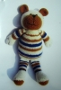 Hand Knitted toy animal (JSTY-008)