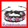 Latest Braided Leather Bracelet Colorful