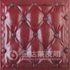 fireproof leather mdf wall panel for decoration